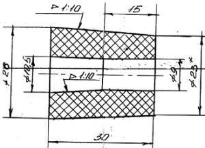 Dyuza borosilitsirovannogo grafita BSG 300x217 - Боросилицированный графит БСГ-30 и БСГ-60